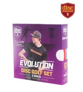 New Discmania Evolution Disc Golf Lizotte Set of 3 Discs Driver Midrange Putter