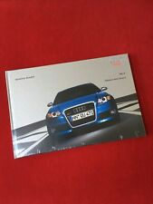 STILL SEALED AUDI RS4 UK 2006 HARDBACK BROCHURE