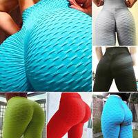 Women Compression Anti-Cellulite Yoga Pants Fitness High Waist Bum Lift Leggings
