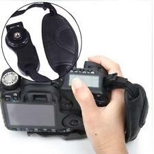 SLR Camera Wrist Strap Hand Belt Wrist Band Leather Black Photo Accessories