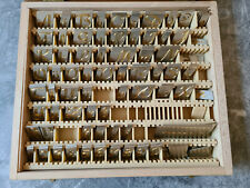 Gravierset 100 Stück in Schöner Holzbox
