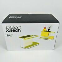 Joseph Joseph - Caddy Sink Tidy - White/Green Soap,Sponge,Rag Kitchen Organizer