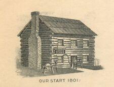Billhead, Wright-Dana Hardware Co, Iron & Steel, Utica, New York NY 1909
