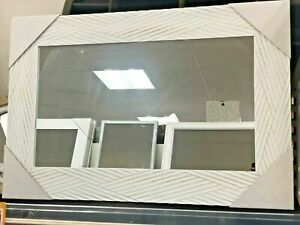 """Wooden Effect Frame  Wall Mirror 60cm x 90cm 24""""x36"""" Large"""