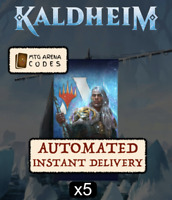 MAGIC MTG Arena Code: 5 Boosters Packs Kaldheim KHM Promo Pack - INSTANT EMAIL