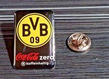 Borussia Dortmund BVB Pin Coca Cola Zero ORIGINAL - Maße 21x30mm