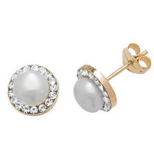 Joyería en Oro amarillo perla perla