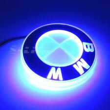 Motors Illuminated 4D LED Car Rear Tail Logo Badge Emblem Lights Fits BMW Blue