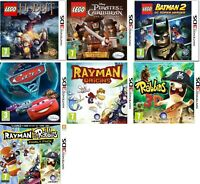 Nintendo 3DS Video Game Buy 1 or Bundle Up - LEGO / Disney / Rayman / Sonic