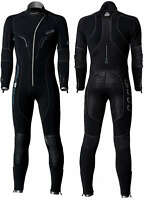 Waterproof - Mens W1 5mm Scuba Diving Wetsuit / Semi Dry Suit with Front Zipper