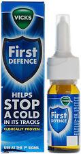 Vicks First Defence Micro-Gel Nasal Spray  15 ml - Exp Oct. 2018
