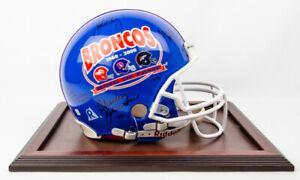 Autographed Limited Edition John Elway Denver Broncos Farewell Retirement Helmet