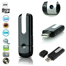 USB Disk SPY Camera Camcorder Mini Hidden DV DVR Activated Detection Mirable