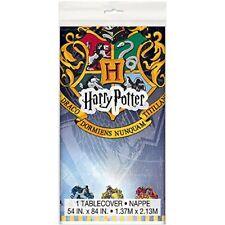 Harry Potter Plastic Tablecloth, 7ft x 4.5ft   59103 NEW