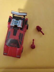 Vintage Transformer G1 Diakron DK-1 Red Sunstreaker Diaclone Original