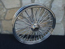 "21X3.5"" DNA MAMMOTH FAT SPOKE FRONT WHEEL HARLEY FXST FXDWG DYNA SOFTAIL 00-06"