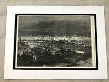 Antique Print The Black Country Wolverhampton Victorian Industrial Revolution