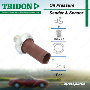Tridon Oil Pressure Switch for Volkswagen Beetle Caddy Crafter EOS Golf IV V VI