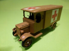 LLEDO DG 43  MORRIS VAN - MILITARY AMBULANCE - ARMY BROWN 1:55? - GOOD CONDITION