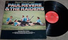 Paul Revere & Raiders LP Here They Come 1965 Columbia 2307 Mono 360 Sound