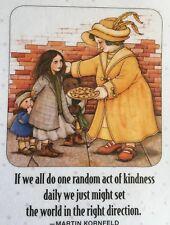 Mary Engelbreit Artwork-If We All Do One -Handmade Magnets