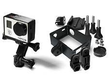 Frame Mount Set für GoPro Go Pro HD HERO 3 Black Tripod Rahmen Zubehör 10teilig
