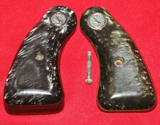 Colt  Firearms Detective Special D Frame Black Pearl Grips