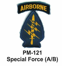 "3"" SPECIAL FORCE (A/B) Embroidered Military Patch"