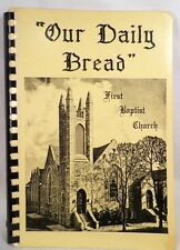 Our Daily Bread Cookbook Recipes First Baptist Church Pottstown Pa Vintage