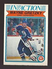 1982 OPC O Pee Chee # 107 WAYNE GRETZKY In Action Card NRMT/MT Edmonton Oilers