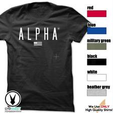 ALPHA Gym Rabbit T Shirt Workout Bodybuilding Fitness Lifting D356 Custom Tee