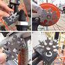 18-in-1 Multi-Tool Stainless Steel Snowflake Shape Flat Cross Head Screwdriver