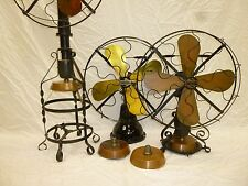 Lake Breeze Fan Stirling Hot Air Fan Copper Alcohol Burner Font Hit Miss
