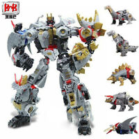 BMB Generations Power of the Primes Volcanicus Dinobot Die-cast Toy kids gift