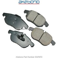 Front Brake Pads Holden Vectra ZC Astra AH Turbo Saab 9-3 YS3F EUR972 ( DB1762 )