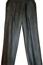 FERRE Mens Gray  Cotton Dress Casual Italy Pants Size US 38 EU 52 Good Condition