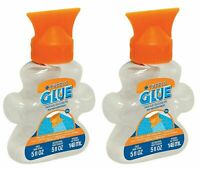 2-Pack MasterPieces Puzzle Glue Jigsaw Shaped Bottle, Spreader Included, 5 fl oz