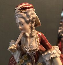 19th Century Royal Vienna Large Porcelain Figurine