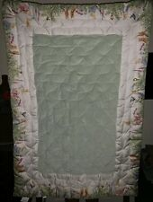 Pottery Barn Kids Peter Rabbit Beatrix Potter Nursery Crib Bedding Quilt