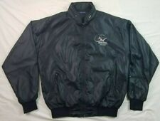 Malibu Mirage Pilots Owners Association Black Vintage Mens Jacket XXL 2XL Flight