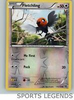 2014 pokemon XY reverse holo Fletchling 113/146