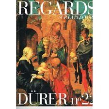 DÜRER REGARDS sur la  PEINTURE L'Adoration des Mages 1504 Galerie des Offices