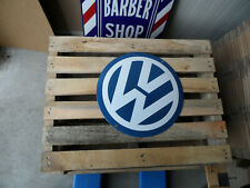 VOLKSWAGEN VW - Garage Dealership - Porcelain Enamel Metal Sign Plaque Emallee