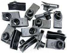 """Ford U-nut Clips- 5/16-18 Thread- 27/32"""" Center To Edge- 15 clips- #190"""