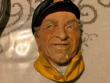 Vintage Sea Captain face plaque lifelike