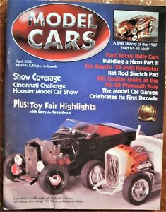 2002 MODEL CARS MAGAZINES 5 issues