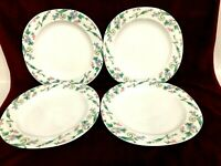"MIKASA Set Of 4 Dinner Plates 10 1/2"" Barcelona Japan"