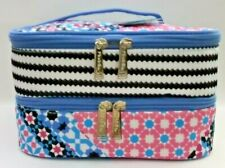 Modella Fashion Forever Double Zip Train Case Fully lined Bag BRAND NEW with TAG