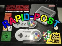 Nintendo Mini Snes Mini 200+ Games Console System  2 Controllers New Uk Stock