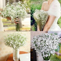Artificial Gypsophila Floral Flower Silk Wedding Party Bouquet Home Decor Gift